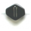 Glass Bead Lanterns 6mm Black Strung